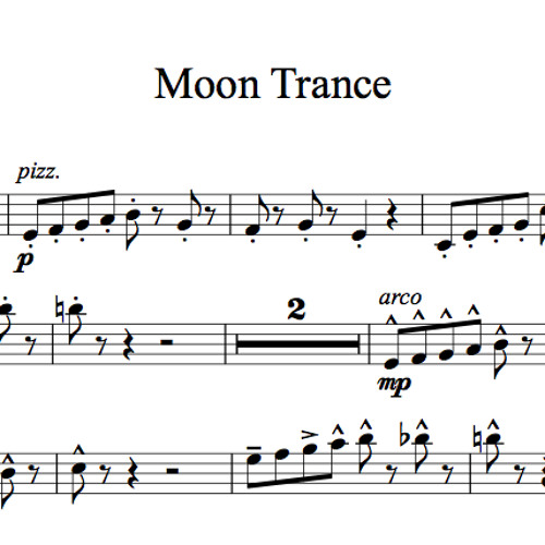 Moon Trance Karaoke Sample by Lindsey Stirling Sheet Music ...