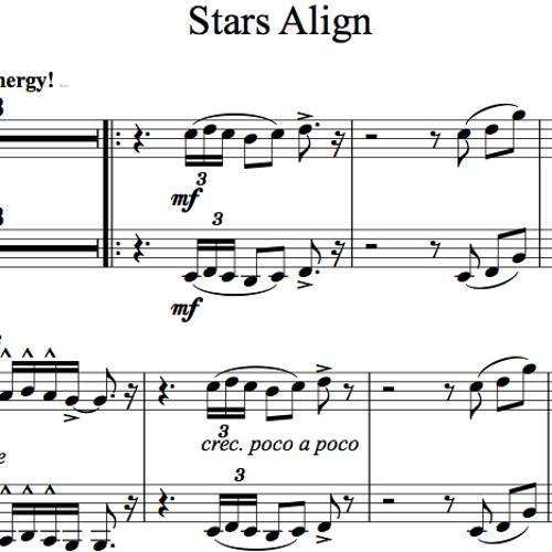 Stars Align Karaoke Sample