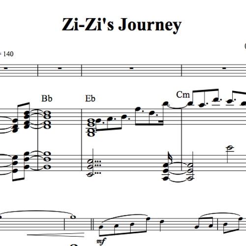 ZiZi's Journey Piano Accompaniment Sample By Lindsey