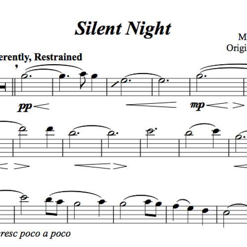 Silent Night Piano Accompaniment Sample By Lindsey