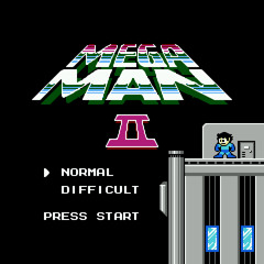 Megaman 2 - Dr. Wily Stage 1