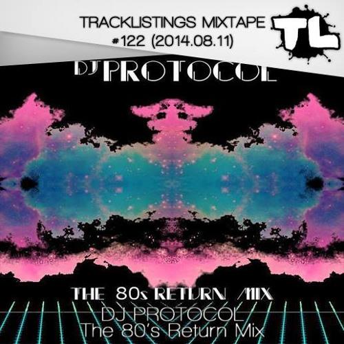 Tracklistings Mixtape #122 (2014.08.11) : DJ Protocol - The 80's Return Mix
