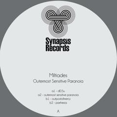 Outermost Sensitive Paranoia Ep - Synapsis Records
