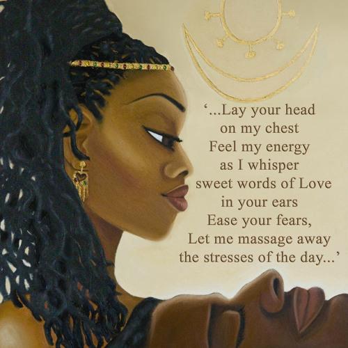 The Preparation (a poem of Sensuality & Spirituality)