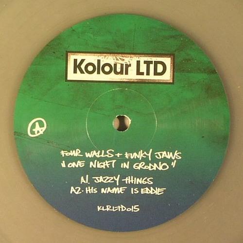 "12"" Four Walls & Funkyjaws - One Night in Grodno EP  Kolour LTD "