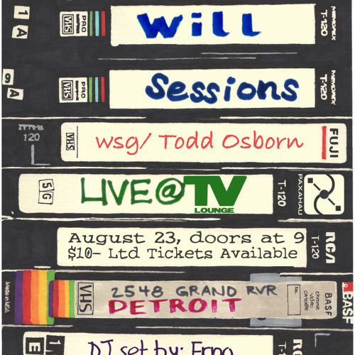 Erno The Inferno @ Will Sessions Live @ TV Lounge - 8 23 14