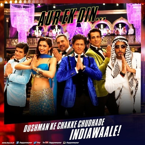 Official: India Waale - Happy New Year Movie Song Indiawaale | Shahrukh Khan | Deepika Padukone