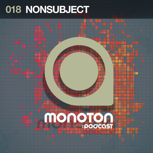 MNTNPC018 - MONOTON:audio pres. Nonsubject