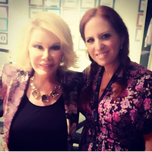 Joan Rivers On Just Jenny June 2012 on SiriusXM