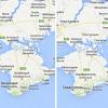 How Google represents disputed borders between countries