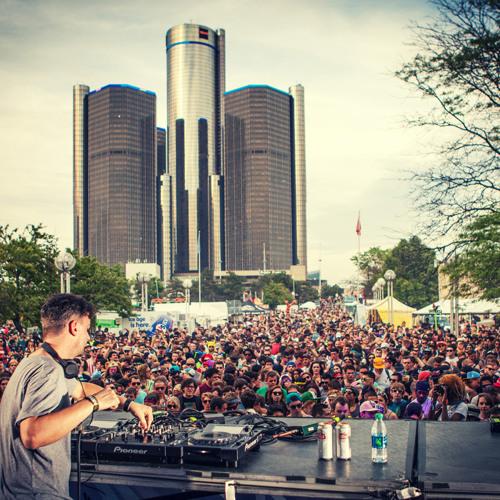 Bonobo DJ Set- Movement Detroit 2014