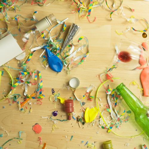Nooit meer rommel opruimen na een feestje