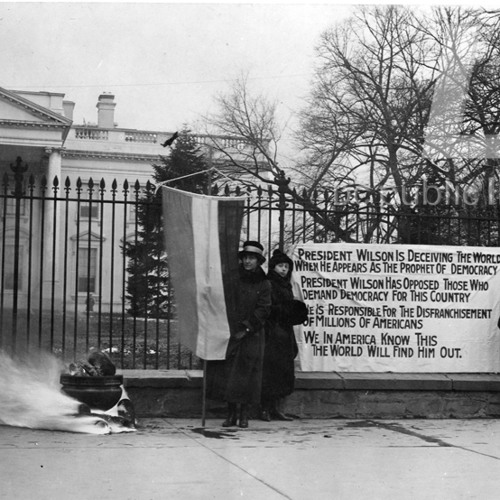 Suffragist remembers 1913 march around White House