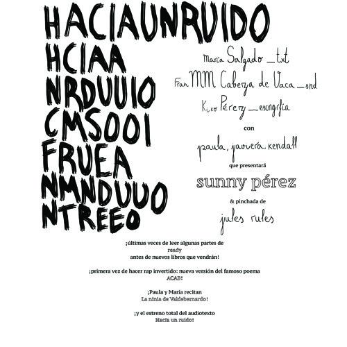 Antes de que desaparezca nuestro mundo, escribamoslo. 9-may-014, Naranjo (Madrid) (1ª)