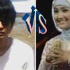 Dhiki vs Fatin Lyric Aku Memilih Setia (cover)