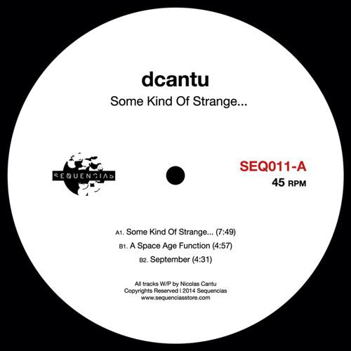 A1. dcantu - Some Kind of Strange... (SEQ011)