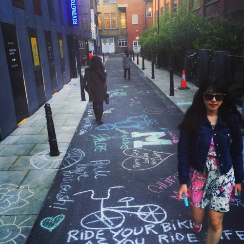 BBC: We Are Chalkers -  getting the public to create art with chalk