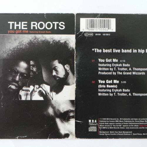 The Roots featuring  Erykah Badu  'You Got Me' (Official Rmx 1999)