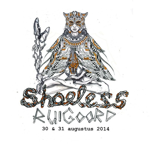 Arjuna Schiks Live @ Shoeless Ruigoord Pt1 (31-8-2014)