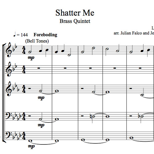 Lindsey Stirling Shatter Me Sheet Music