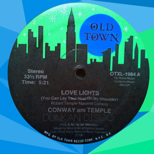Conway And Temple - Love Lights (Dunkan Disco Edit)