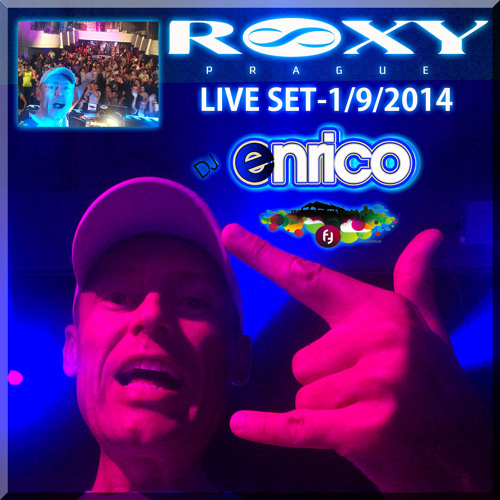 DJ Enrico - Live - ROXY (Free Mondays) 1.9.2014