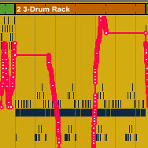 Ableton Push Impov: Vinyl Needle Drops in Drum Racks (Real-Time & Step Automation)