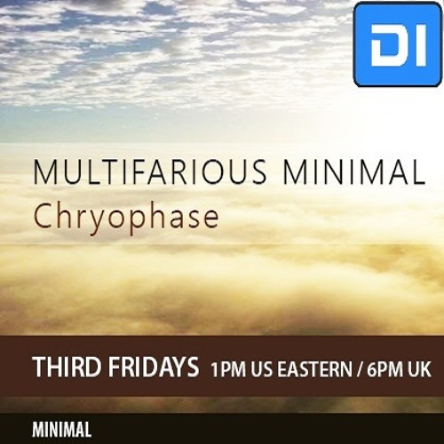 Multifarious Minimal Show on DI.FM/Minimal (Monthly)