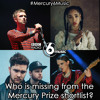 Who is missing from the Mercury Prize shortlist?