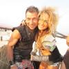 Clarkie Ft. Bang Bang - Dusty Rhino 21 - Sunrise At Embrace Burn - Burning Man 2014