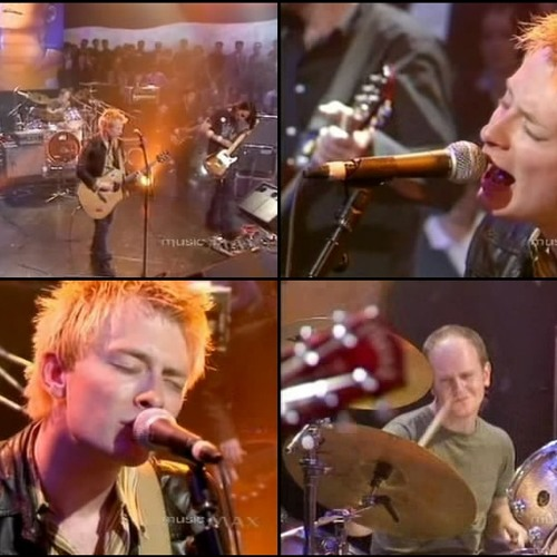 Radiohead - High And Dry (live Jools Holland 1995)