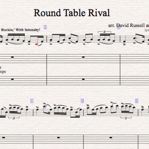 Round Table Rival Piano Accompaniment Sample