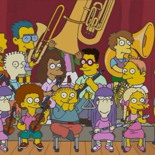 The Simpsons Theme (Virtual Orchestra) feat. Peter Mansour on Sax