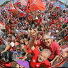 Fala de Lula após caminhada em Sapopemba