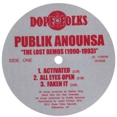 Publik Anounsa - Activated