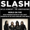 Slash World On Fire Radio Special