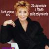 Annie Cordy: un concert devant 500 privilégiés à Fraize.