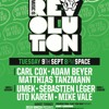 Matthias Tanzmann At Space Ibiza - Carl Cox Music Is Revolution 09.09.2014