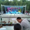 """FS#17: Russian Band soundchecking a cover song, """"Pumped Up Kicks"""", at Xi'an music festival"""