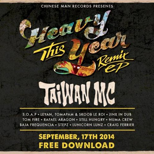 Taiwan MC - Roll It Up (Numa Crew Remix) [FREE DL]