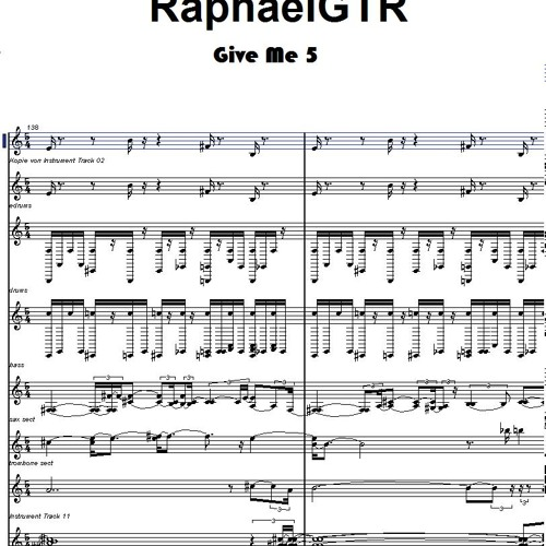 RaphaelGTR - Give Me 5