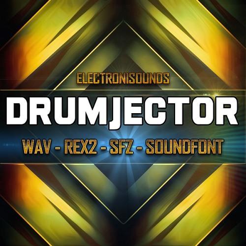 Drumjector - 1082 Multiformat Sounds ( WAV, Rex2, SFZ, Soundfont) by
