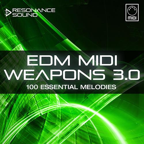 Resonance Sound - EDM MIDI Weapons 3.0