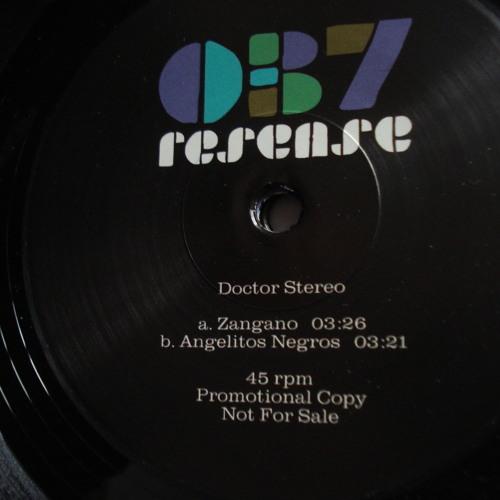 """Doctor Stereo - Zangano (Resense 7"""" vinyl)"""