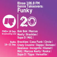 Rinse FM Podcast - Supa D w/ Doneao + Coldstepz - Funky Takeover - 19th Septmeber 2014
