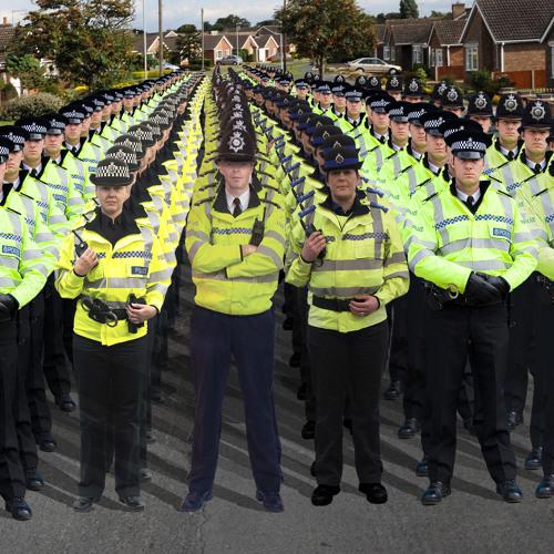Naseband - Polizisten