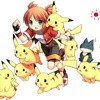 Pika girl in a poke world
