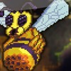 Queen Bee Boss Battle Terraria