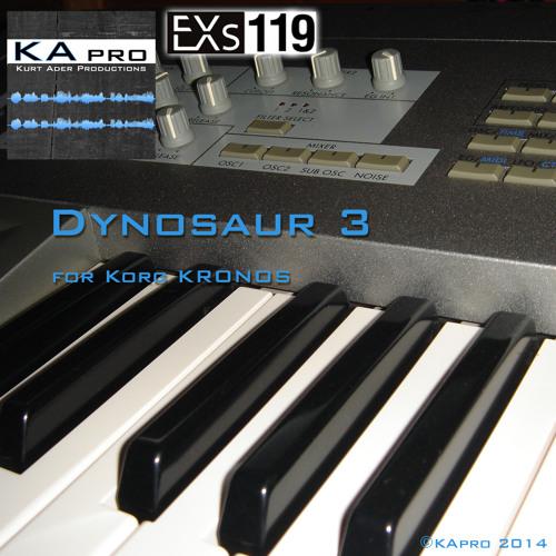 EXs119 Dynosaur 3