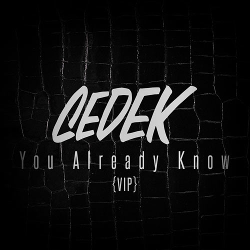 You Already Know (VIP) By Cedek